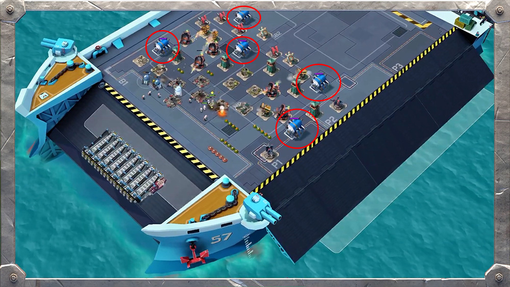Engine room - Boom Beach
